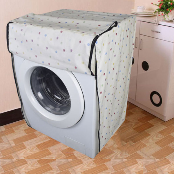 Front load washing machine cover 117