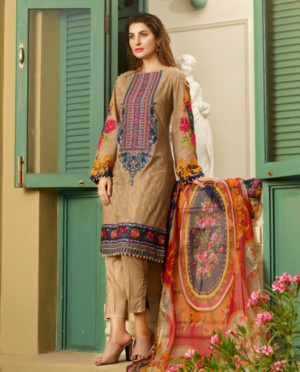 Five Star D'vine 12a lawn dress 2019