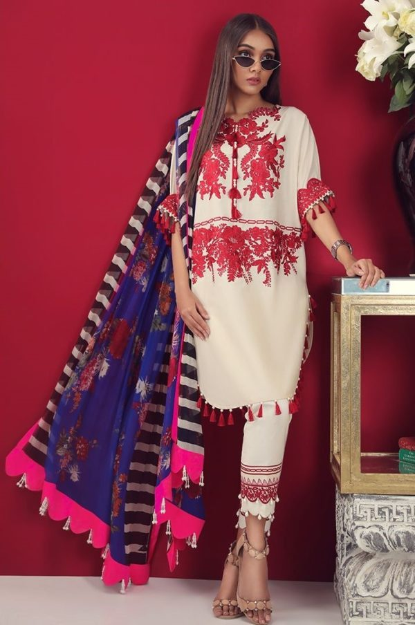 sana safinaz 09b lawn collection 2019