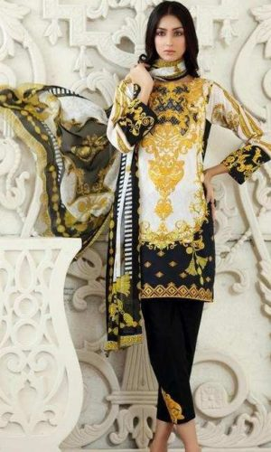 So kamal embroided lawn collection 2019