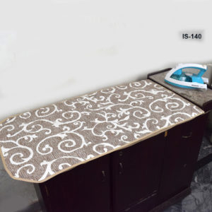 IRON STAND COVER PRINTED BROWN