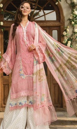 62922f29faf Maria.B Summer Embroidered Lawn Collection 2019   Mariab Lawn Suits