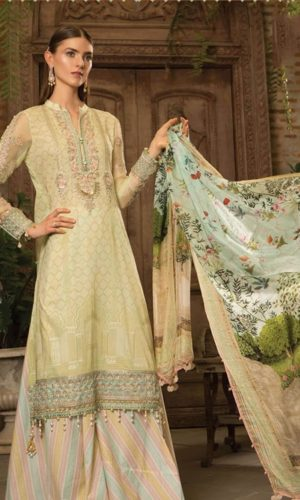 0827e1db5e Maria.B Summer Embroidered Lawn Collection 2019 | Mariab Lawn Suits