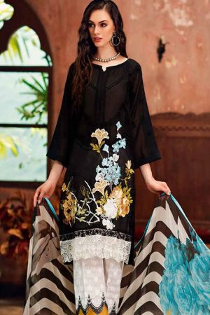 Charizma CR-25 embroided lawn collection 2020