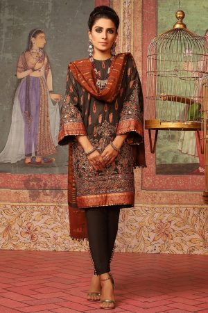 al-karam-lawn-collection-2020-fc-w5c-19-chocolate-brown