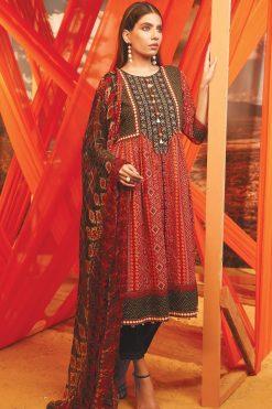 Sana Ayyan EdenRob best embroided jaquard fancy lawn suit 2020