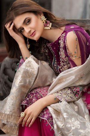 Motifz MT-2354 embroided lawn collection 2020