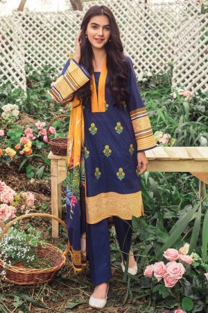 Orient OR-086 best embroided jaquard fancy lawn suit 2020