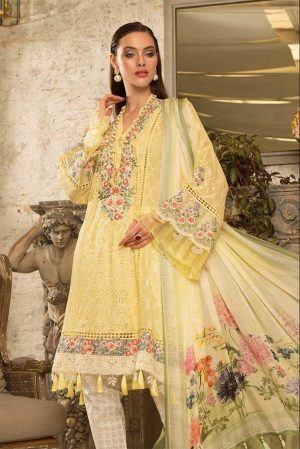 Mariab mb-610 embroided lawn collection 2020