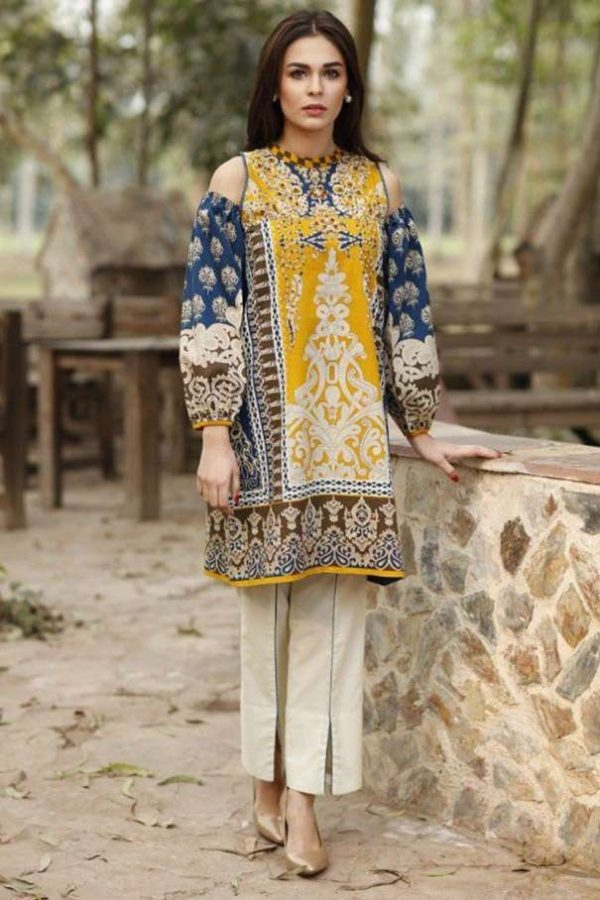 LimeLight LL-025 embroided lawn collection 2020