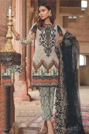 Siffona SF-10 best embroided jaquard fancy lawn suit 2020