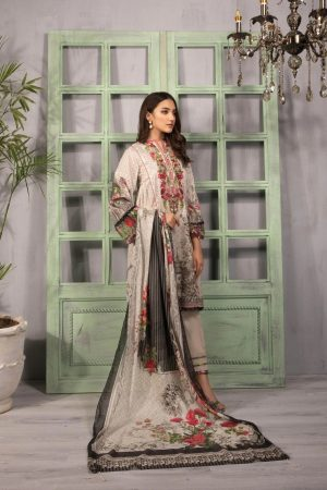 sapphire lawn 2020 embroided lawn suite 2020