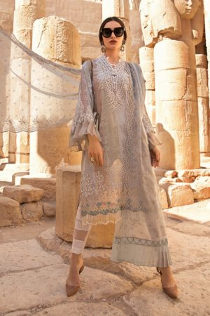 MariaB MB-20-14B embroided lawn collection 2020