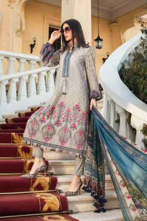 mariab eid lawn embroided lawn collection 2020