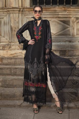 mariab eid embroided lawn collection 2020