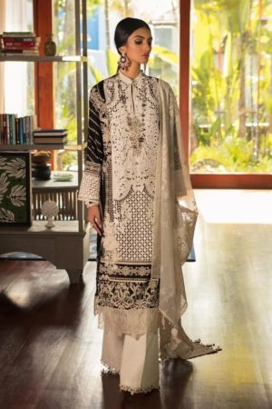 sana safinaz best embroided jaquard fancy lawn suit 2020
