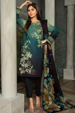 Chinyere CY-6819 embroided lawn collection 2020