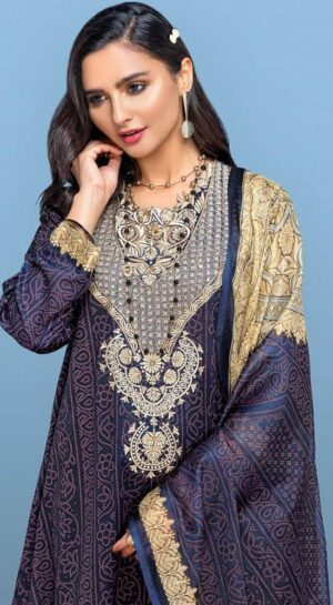 nishat embroided lawn collection 2020