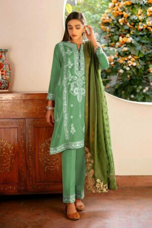 ethnic best embroided jaquard fancy lawn suit 2020