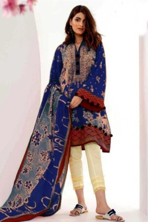 khaadi latest embroided lawn collection 2020
