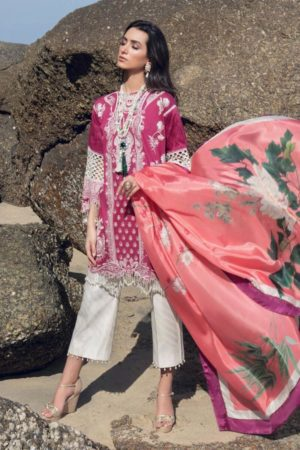 Sana safinaz embroided lawn collection 2020