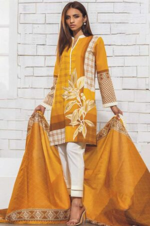 orient best embroided jaquard fancy lawn suit 2020