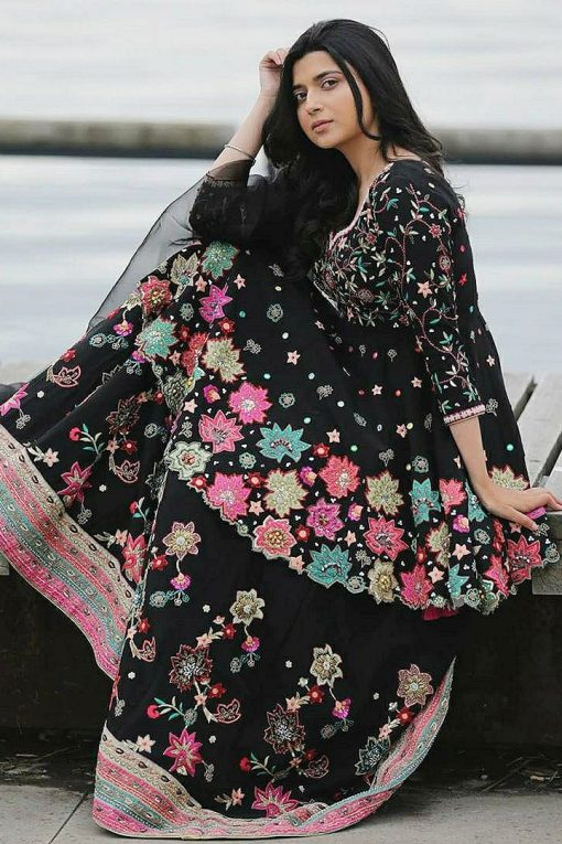 pakistani dresses online free shipping   linen nimrat khera   nimrat khera dress   online ladies suit 2021