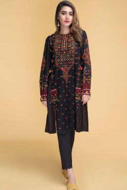Kayserya fully embroidered unstitched winter collection 2020