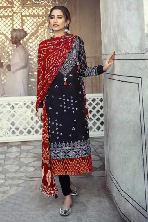 cross stitch Embroidered summer lawn collection 2021