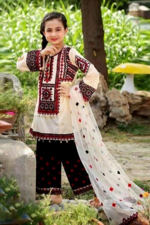 MariaB Kids Lawn Collections 2021 with Mirror Work