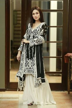 Rizwan Baig best embroidered lawn suit 2021