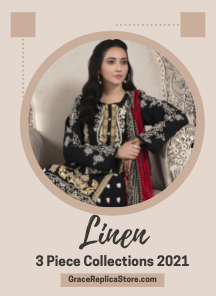 latest embroidered linen collection 2021